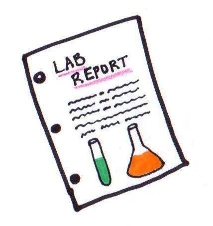 Writing chemistry lab report